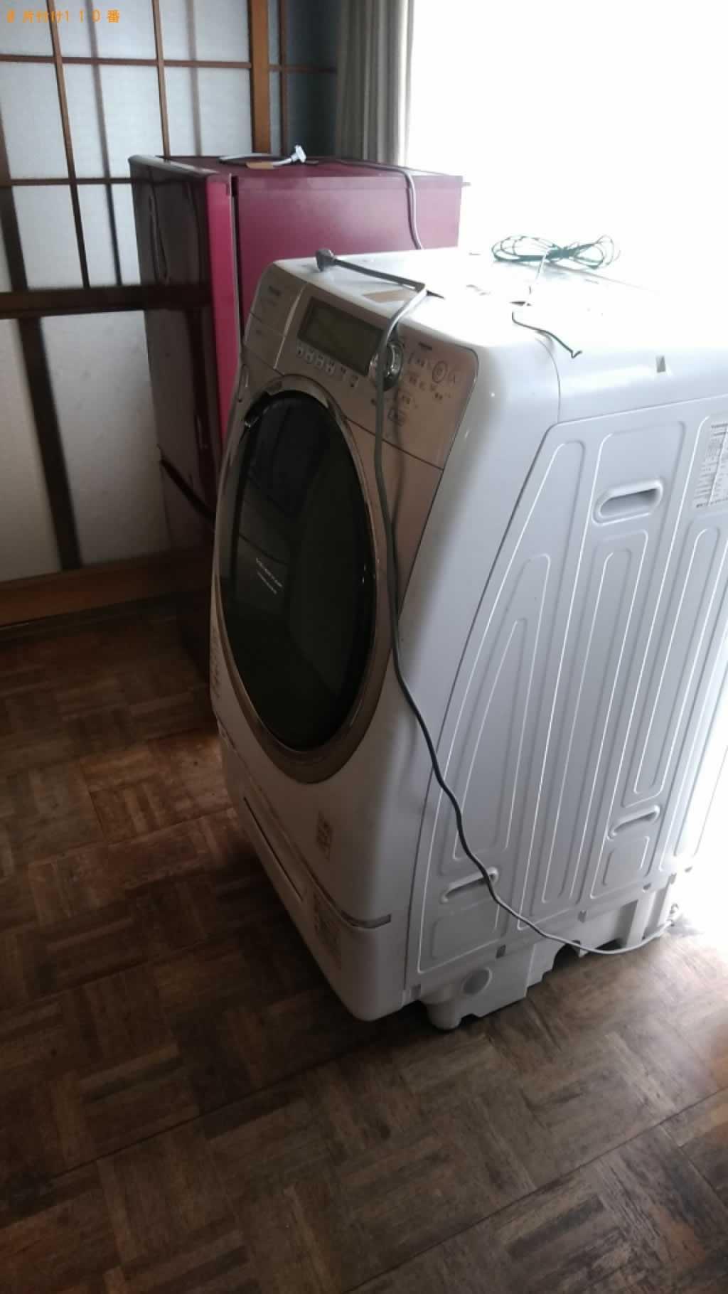 洗濯機回収施工前