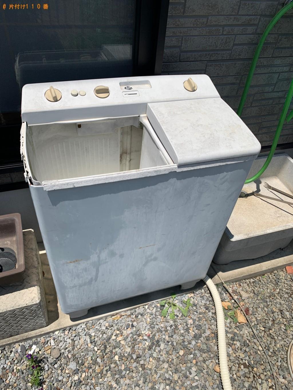 【足利市大前町】二層式洗濯機の回収・処分ご依頼 お客様の声