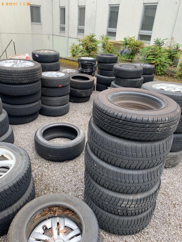 【芳賀郡市貝町】自動車タイヤの回収・処分ご依頼 お客様の声