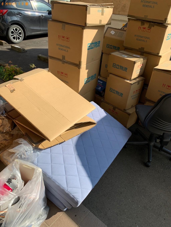 【小山市】ダンボール、梱包材、布団、バッグ等の回収・処分ご依頼