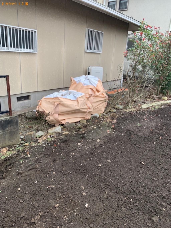 【下都賀郡壬生町】コンクリート、石の置物、大谷石の回収・処分