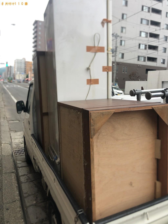 【宇都宮市】冷蔵庫、タンスの回収・処分ご依頼 お客様の声