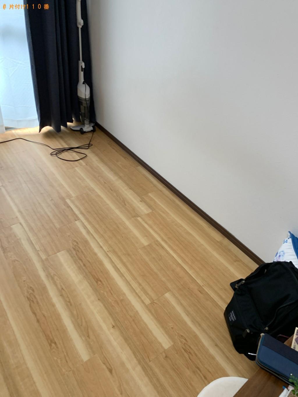 【日光市】衣装ケース、脚付きセミダブルマットレス、家具等の回収