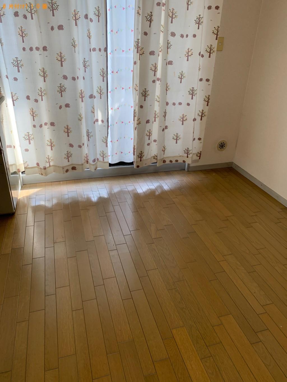 【那須塩原市】マットレス付きシングルベッド、掃除機の回収・処分