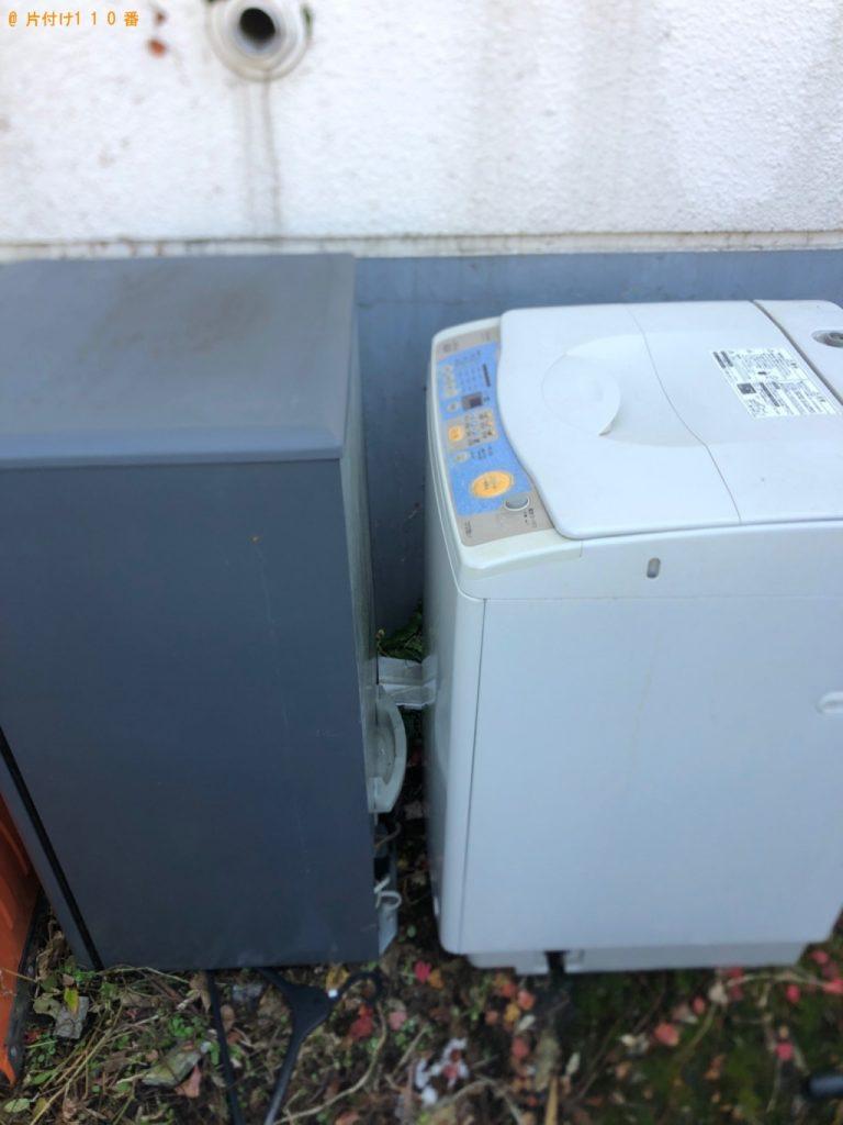 【栃木市】遺品整理に伴い冷蔵庫、洗濯機の回収・処分ご依頼 お客様の声