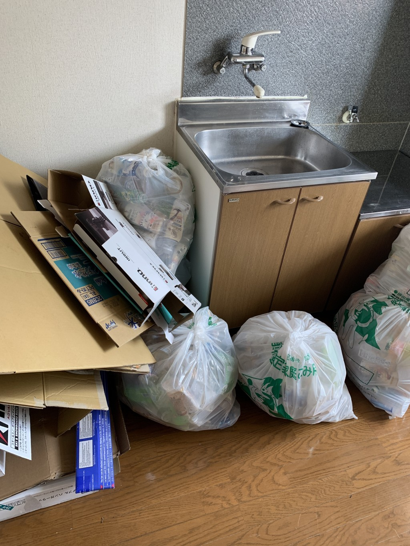 【那須烏山市】お引っ越しに伴う不用品の回収☆退去日間近のお客様に、迅速な対応でご満足いただけました!