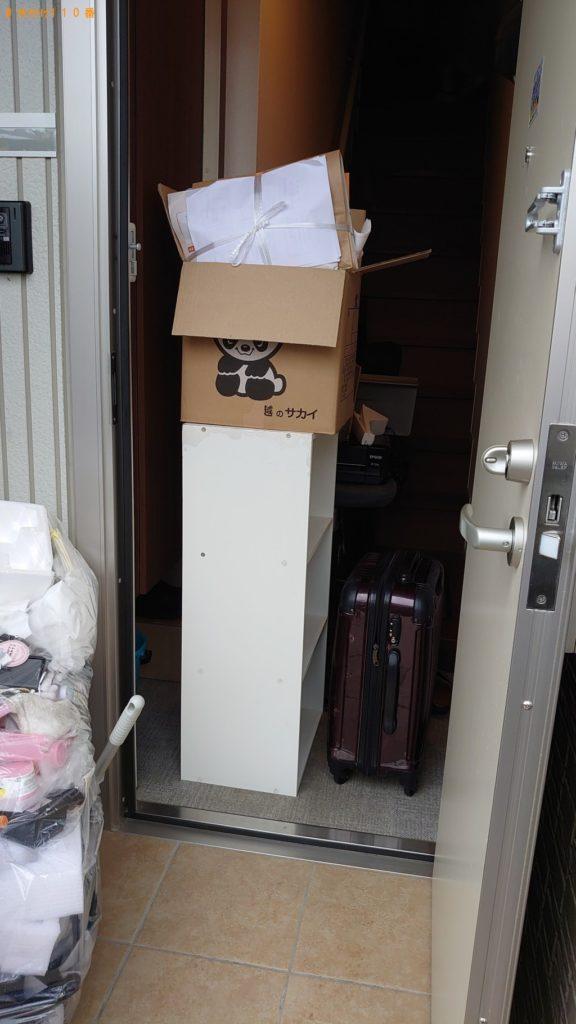 【那須町】ダンボール、カラーボックス、電子ピアノ等の回収・処分