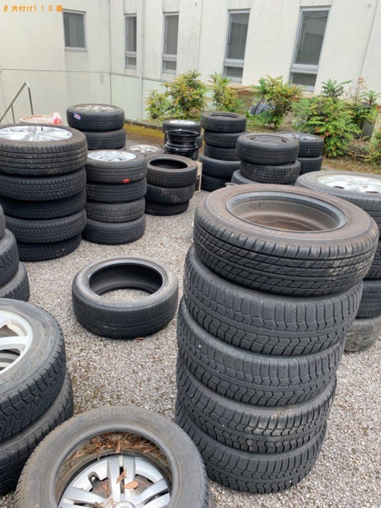 【栃木県さくら市】自動車タイヤの回収・処分ご依頼 お客様の声