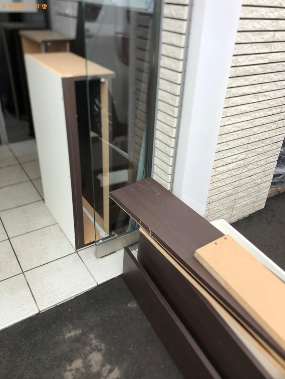 【宇都宮市】マットレス付きセミダブルベッドの回収・処分ご依頼