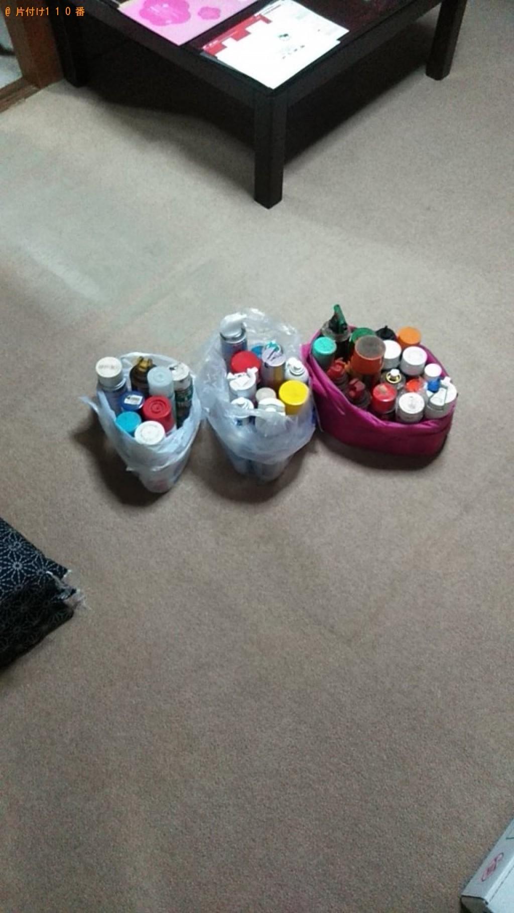 【宇都宮市】スプレー缶の回収・処分ご依頼 お客様の声