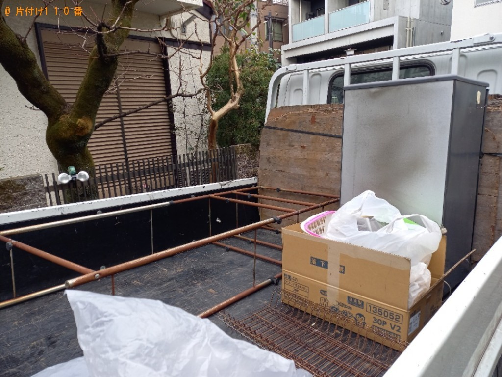 【宇都宮市】冷蔵庫、ラック、一般ごみ等の回収・処分ご依頼