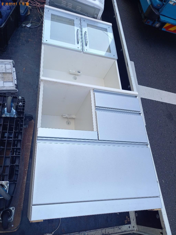 【宇都宮市】食器棚の回収・処分ご依頼 お客様の声