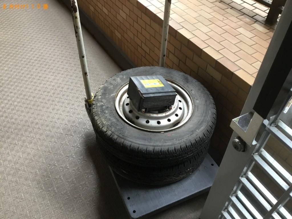 【宇都宮市】自動車タイヤ、バッテリーの回収・処分ご依頼