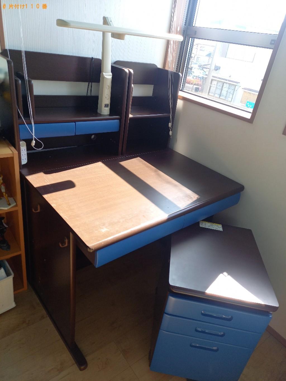 【宇都宮市】学習机の回収・処分ご依頼 お客様の声