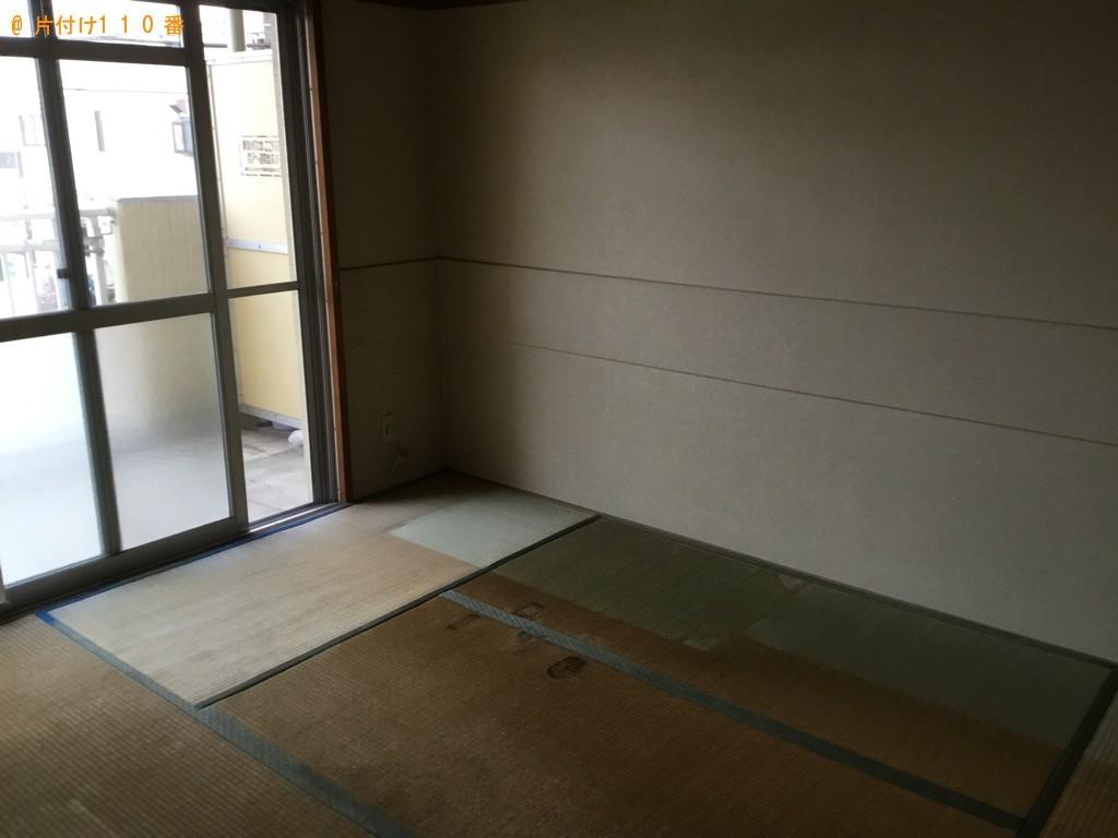 【宇都宮市】食器棚、ダイニングテーブル、椅子、タンス等の回収