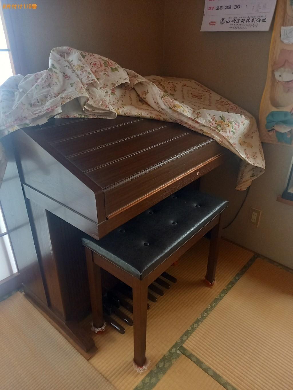 エレクトーン、ローテーブル、家電の回収・処分ご依頼 お客様の声