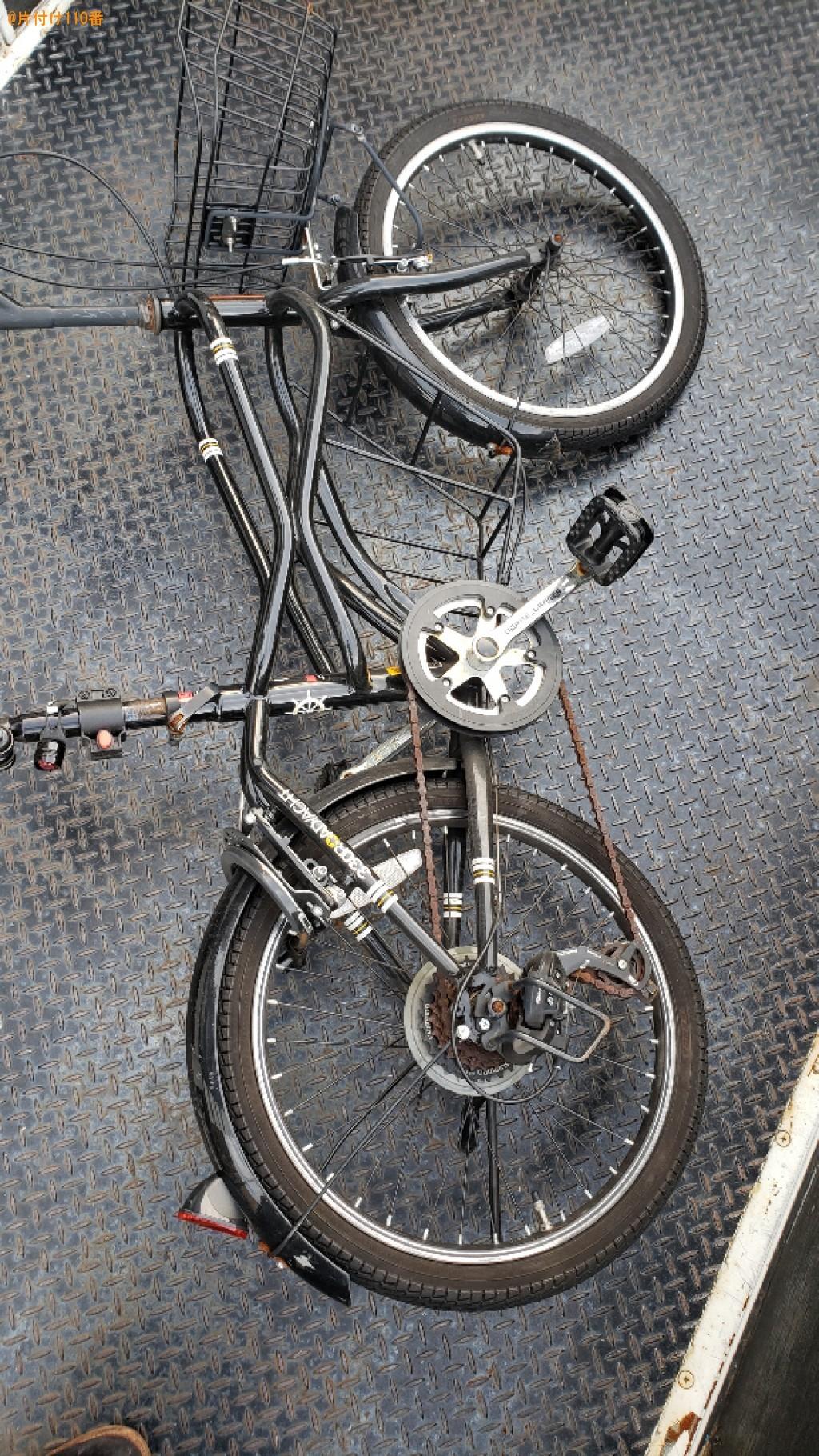 自転車の回収・処分ご依頼 お客様の声
