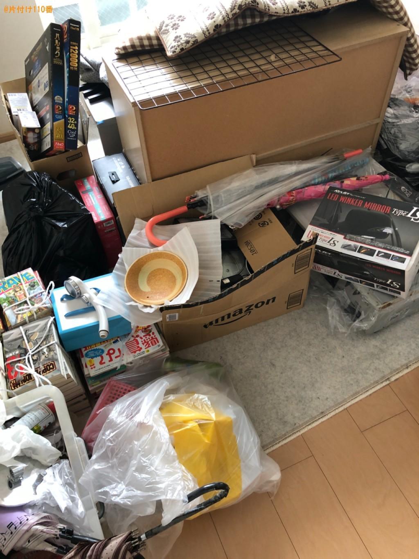 テレビ、カーペット、ウレタンマットレス、カラーボックス等の回収